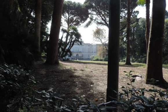 villa floridiana sede del museo nazionale della ceramica