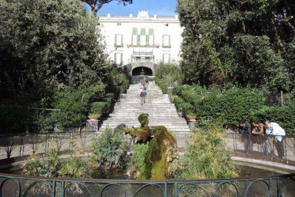 villa floridiana al vomero