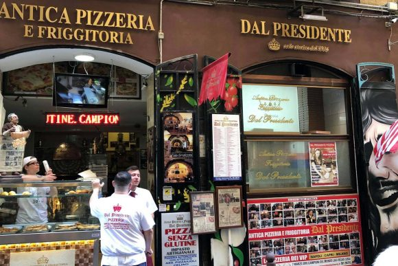 Pizzeria dal Presidente a Napoli