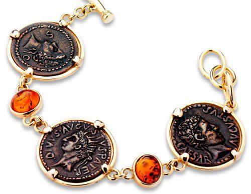 braccialetto con monete