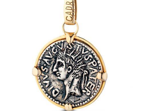 angela puttini gioielli con monete dell'epoca di tiperio