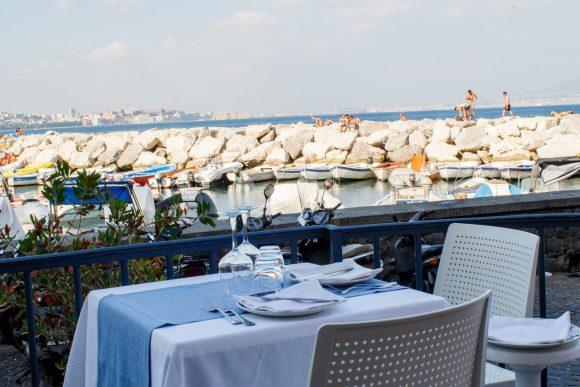 giuseppone a mare ristorante di pesce a Posillipo