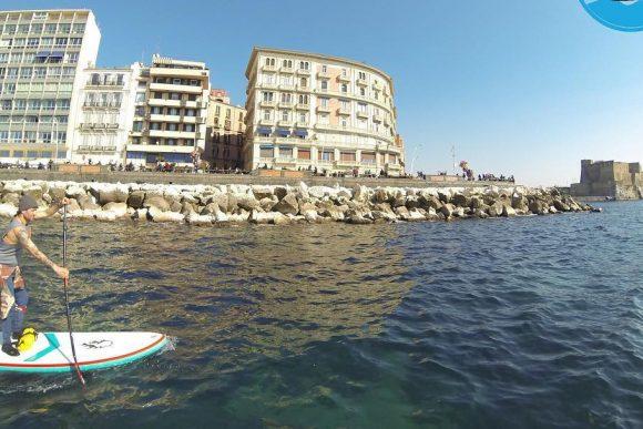 Napoli Sup stand up paddling