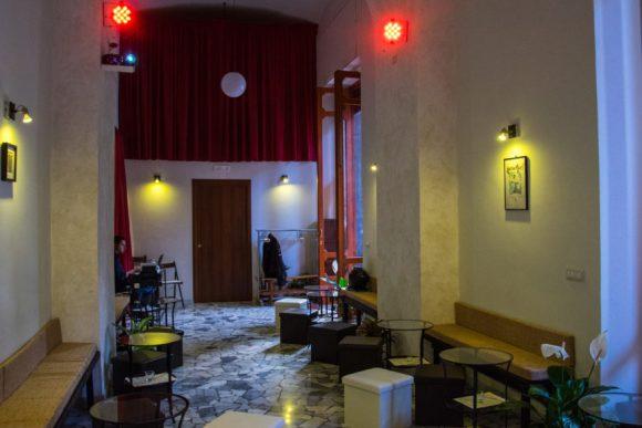 La sala da concerti Napulitanata