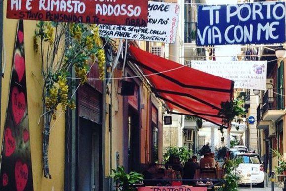 quartieri spagnoli vico santa maria delle grazie a toledo