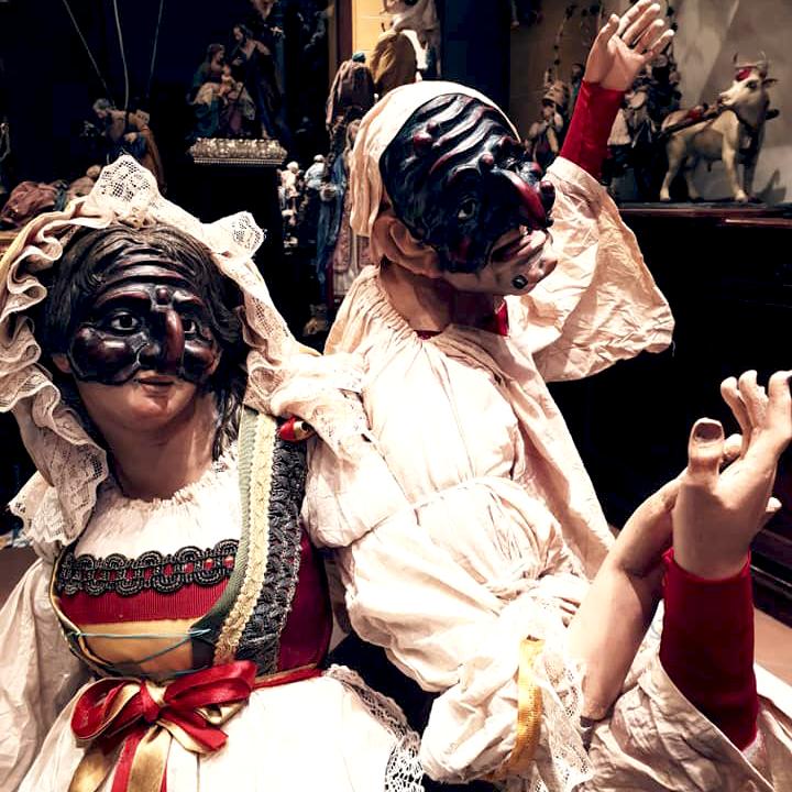Anime di Terracotta bottega artigiana a Soccavo, Napoli