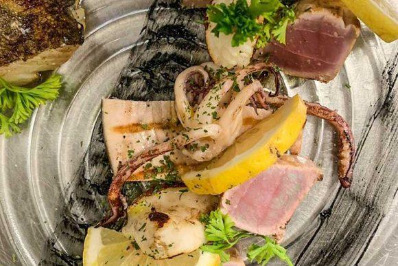 Cucina e Cucinell piatti preparati con il pescato del giorno